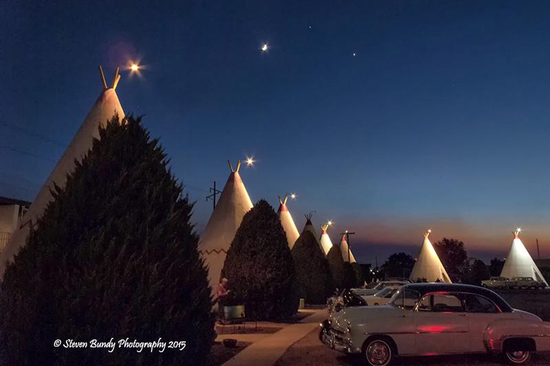 Wigwam Motel Sunset – Holbrook, AZ – 2015