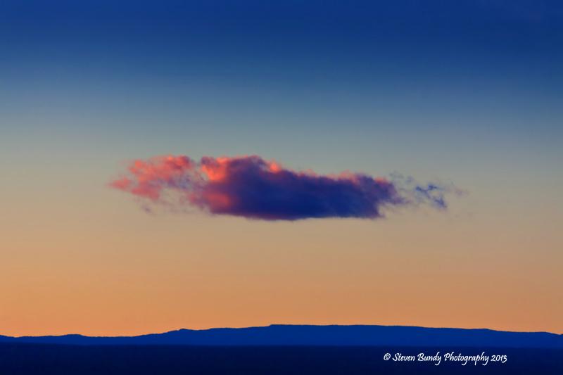 Winter Sunset – Taos, NM – 2013